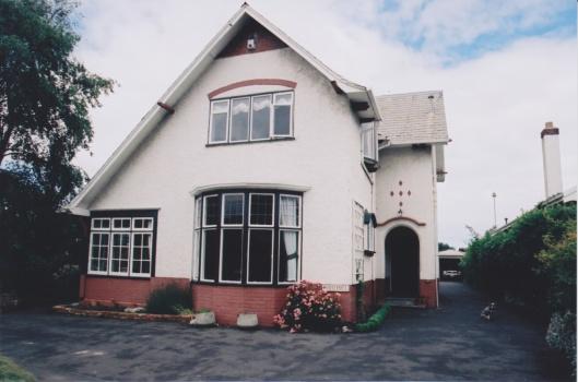 Allan House, Bayview Road, 1914. Photograph courtesy of Ralph Allan