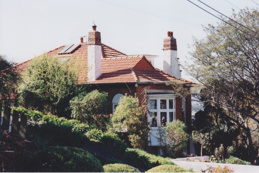Dick House, Allandale Road, 1909. Photograph courtesy of Ralph Allan