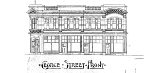 T. Smith Factory, George Street, 1910. Image courtesy of Ralph Allen