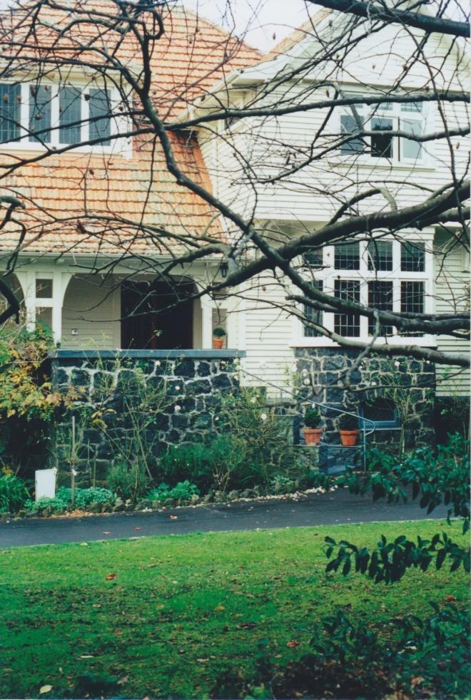 Odlin House, Epsom, 1925. Photograph courtesy of Ralph Allan