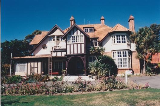Orbell House, Park Lane, 1910. Photograph courtesy of Ralph Allan