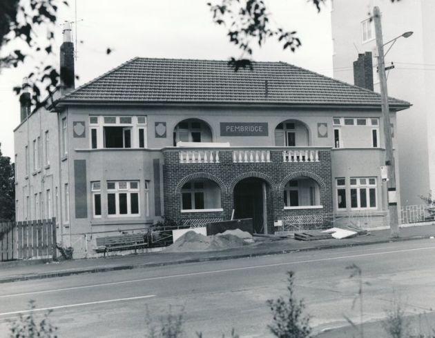 Pembridge flats and dance studio. Symonds St, Auckland. 1926