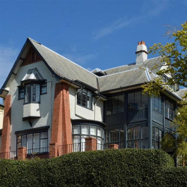 Ritchie residence, Herriot Row, Dunedin. 1911