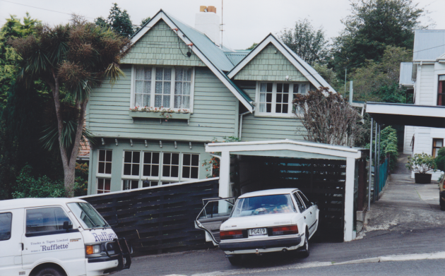 Statham house, Williams St, Dunedin, 1905. Photograph courtesy of Ralph Allan