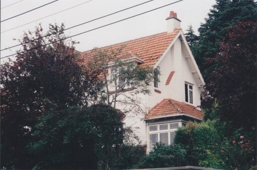 Throp House, Dunblane Street, 1912. Photograph courtesy of Ralph Allan