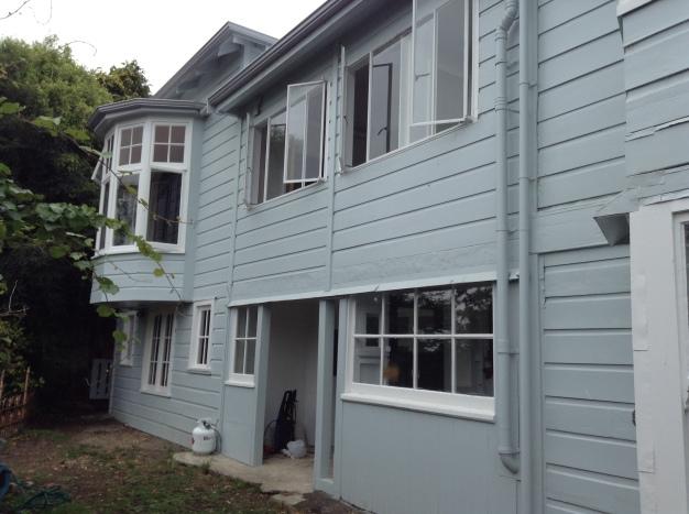 Otago Harbour Board house. Bernicia St, Port Chamlers