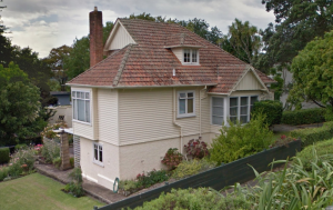 Unknown House, Shore Rd, date unknown Image taken from Google Street view, access 2015.